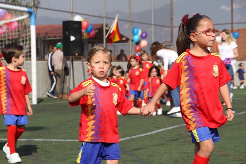 Inauguracion Mundialito Preescolar